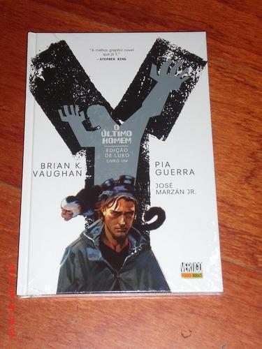 y o último homem - volume 1 - edição de luxo em capa dura