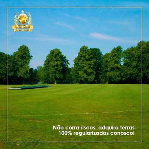 y ocasião p/comprar a seu terreno de 1000m² c/bosque