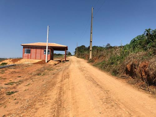 y terrenos p/chácaras 1000m² livres c/rua cascalhada