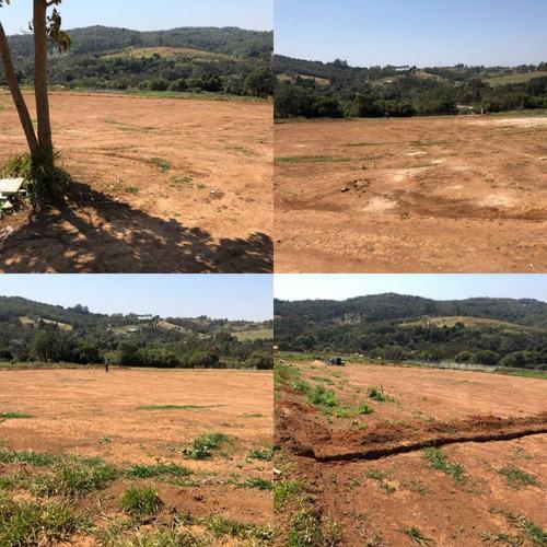 y terrenos p/chácaras 1000m² prox. a represa itupararanga