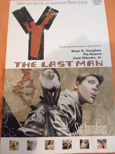 y the last man el ultimo hombre vertigo comics tomo 1 latino