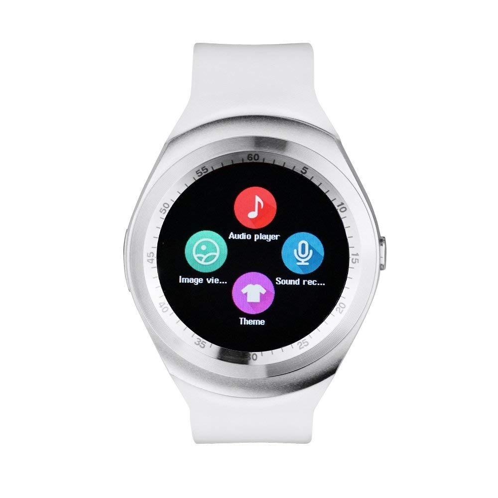 Y1 Smartwatch Tocar Pantalla Apoyo Tarjeta Micro Sim Con Blu Smart Watch