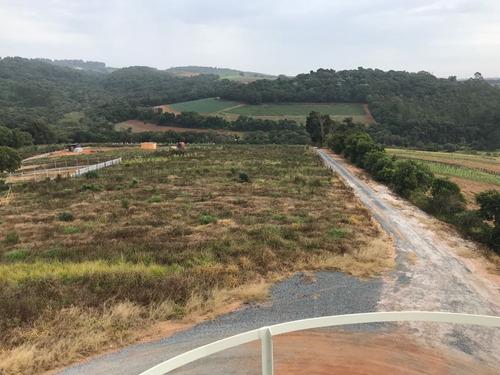 ya área p/chácara de 1000m² c/lago e bosque para lazer