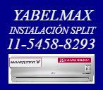yabelmax instalación split matriculado