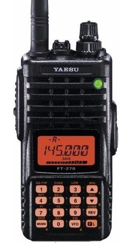 yaesu ft-270 banda corrida vhf sumergible - liberado -