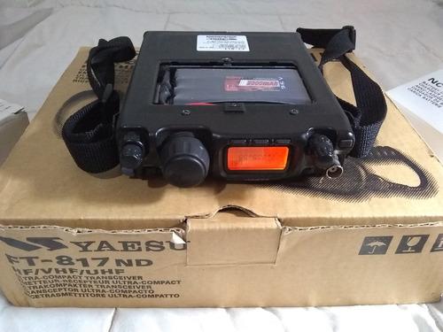 yaesu ft-817nd muy poco uso ft817  817
