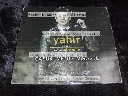 yahir casualmente miraste cd + dvd de coleccion!!