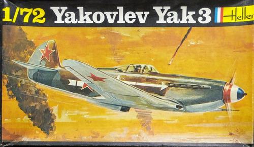 yakovlev yak3 escala 1/72 heller