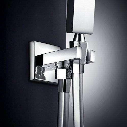 yakult (tm) ducha de latón sostenedor del soporte sólido cab
