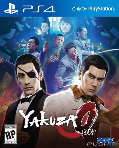 yakuza 0 para ps4 - fisico - nuevo sellado.
