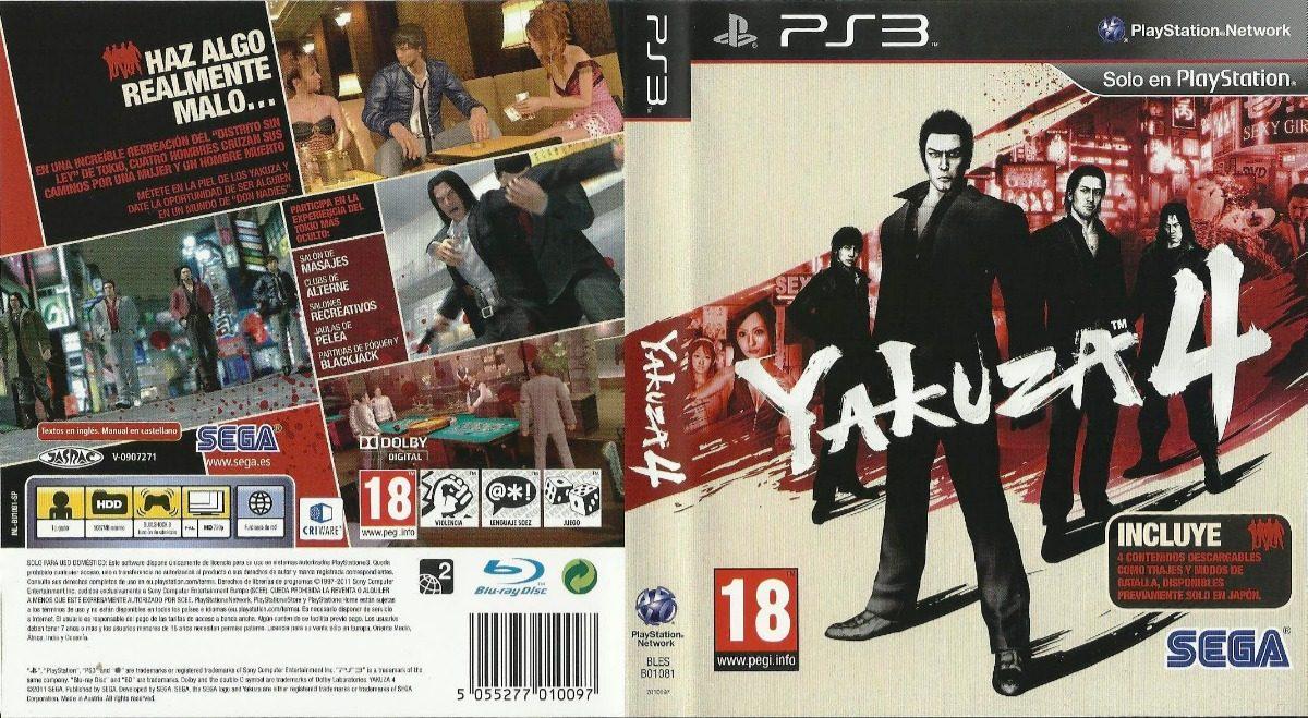 Yakuza 4 Ps3 Fisico