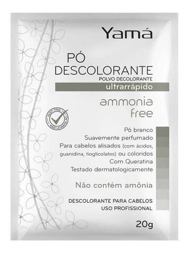 yamá amônia free pó descolorante 20g