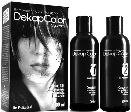 yamá removedor de coloração dekapcolor system 400ml -02 kits