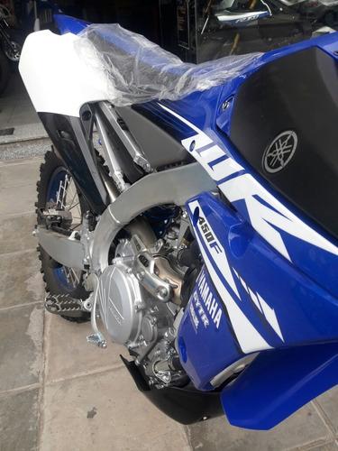 yamaaha wr 450f off road 2018 azul 0km recibo permutas