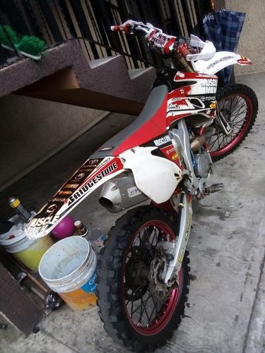 yamaha 2010 250cc cross/fit pro bike americana (pink slip)