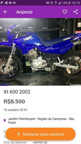 yamaha 600e xt