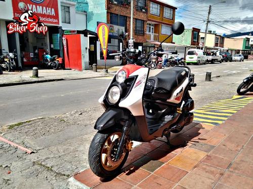 yamaha bws 125x modelo 2015 excelente estado biker shop