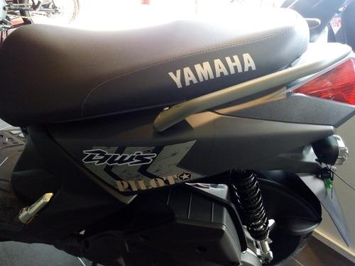 yamaha bws fi e.d my pilot + chaqueta pilot 2021