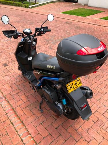 yamaha bws x negra 125 cc