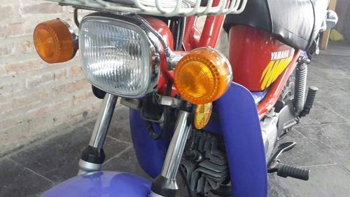 yamaha chappy 80 cc impecable y original.