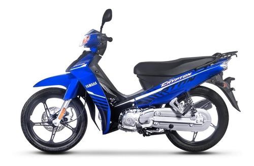 yamaha crypton 110 0km año 2020  ++ palermo bikes
