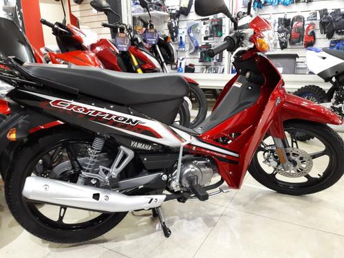 yamaha crypton 110 2019 motolandia !!!
