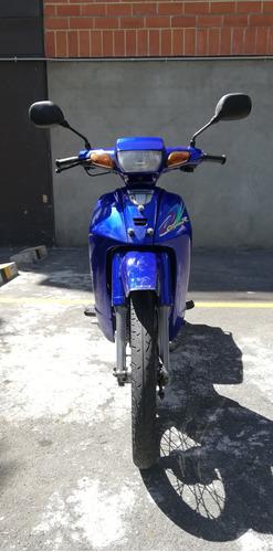 yamaha crypton 110 azul-negro