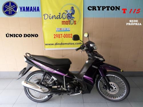 yamaha crypton 115 ed 2015 roxa