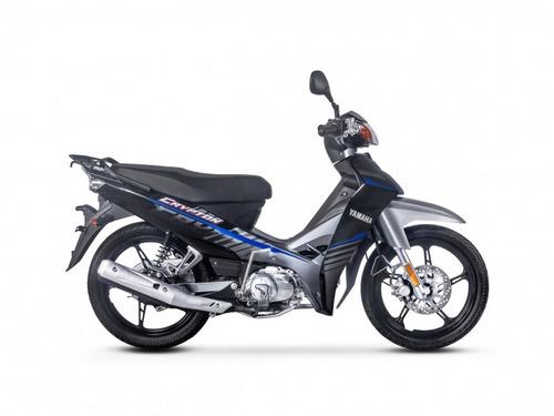 yamaha crypton 12 cuotas sin interes de $8283  oeste motos