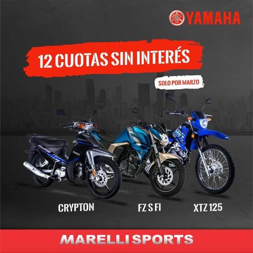 yamaha crypton 12 cuotas sin interes, marellisports