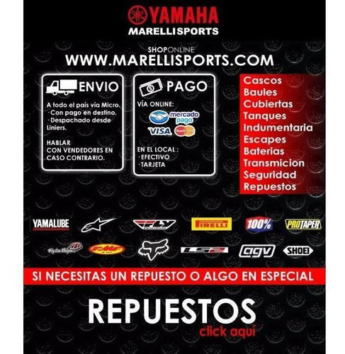 yamaha crypton t110 12 cuotas sin interés en marelli sports