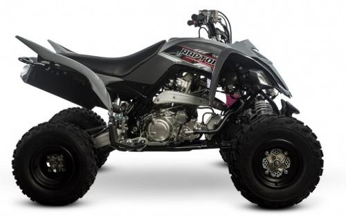 yamaha cuatriciclo raptor 700 modelo 2018 + palermo bikes