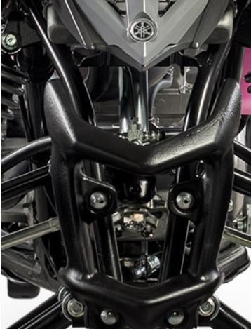 yamaha cuatriciclo yfm raptor 700 mod 2018 + palermo bikes