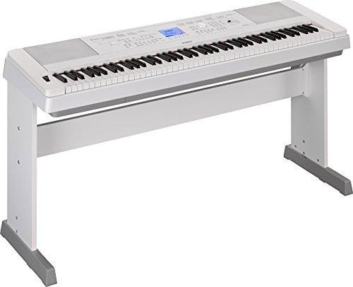 yamaha dgx-660 piano de caudal con 88 teclas de acción digit