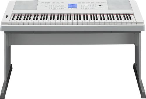 yamaha dgx-660 piano de cola digital con acción ponderada
