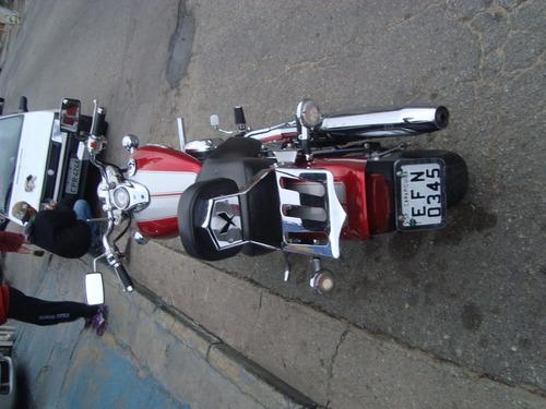 yamaha drag star 2008 vermelha
