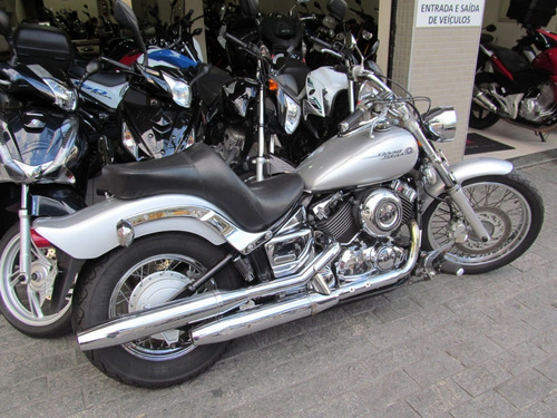 yamaha drag star 650 2005 prata