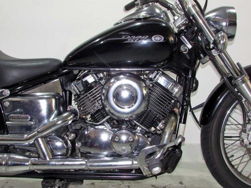 yamaha drag star 650  2006 preta
