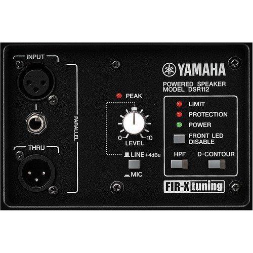 yamaha dsr112 caja acústica auto-amplificada de 12