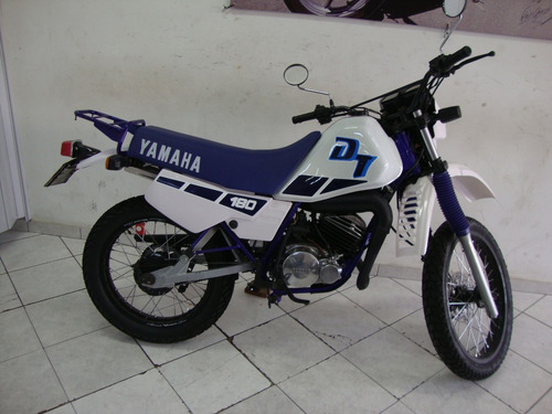 yamaha dt 180 z branca 1990 toda reformada impecavel