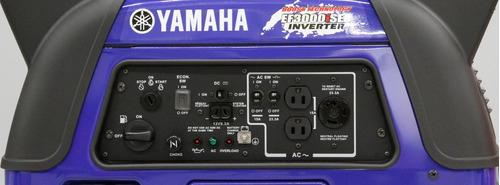 yamaha ef3000iseb inverter planta eléctrica 3000 watts