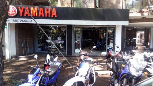 yamaha ex 0km con chaleco de regalo motolandia