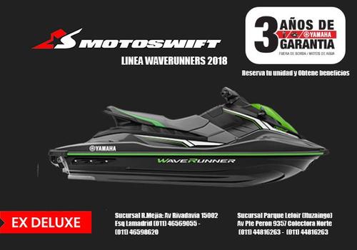 yamaha ex deluxe  moto de agua 2018 - en motoswift