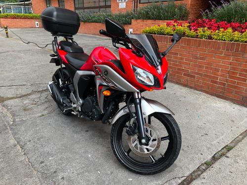 yamaha fazer 150 cc roja