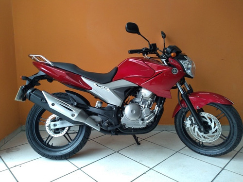 yamaha fazer 250 2011 vermelha