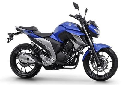 yamaha/ fazer 250 blueflex - itacuã motos