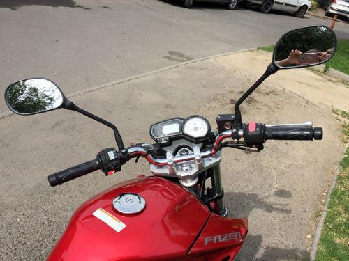 yamaha fazer 250cc, 2016, 16.500km