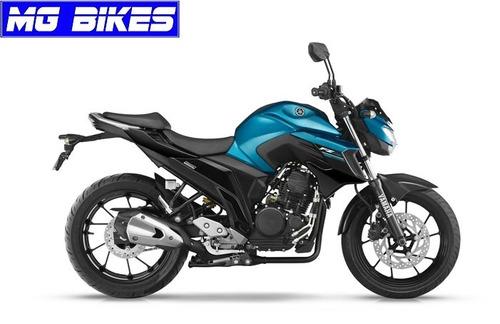 yamaha fz 25 0km azul - entrega inmediata - mg bikes!