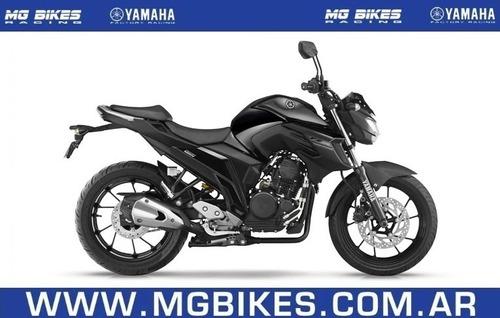 yamaha fz 25 0km negra - entrega inmediata - mg bikes!