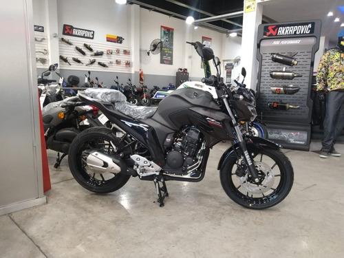 yamaha fz 25 0km negro mate 2020 mg bikes